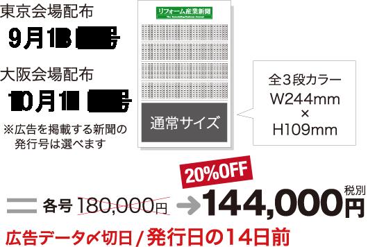広告セットプラン:リフォーム産業新聞