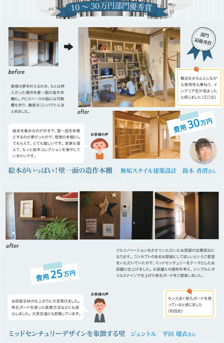 10~30万円部門優秀賞